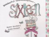 Sweet 16 Birthday Cards for Granddaughter Granddaughter 16th Birthday Cards Sixteenth Age 16