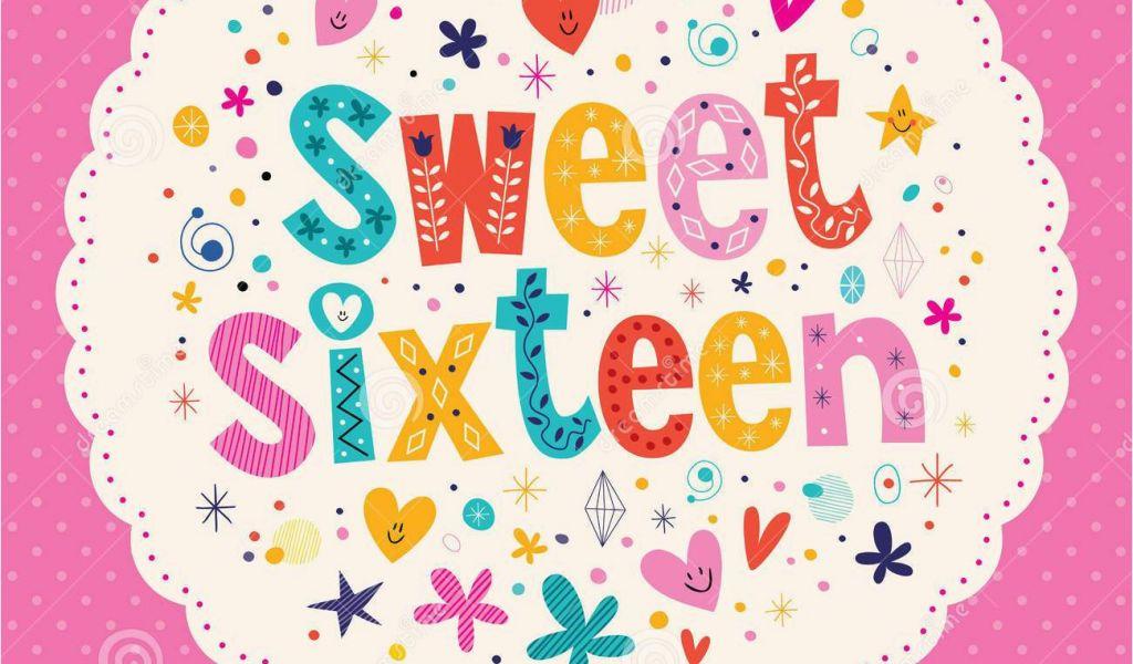 Sweet 16 Birthday Cards For Granddaughter Sweet 16 Birthday