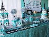 Sweet 16 Birthday Decoration Ideas Sweet Sixteen Paris Style Birthday Birthday Party Ideas