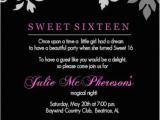 Sweet 16 Birthday Invitation Wording 1000 Ideas About Teen Birthday Invitations On Pinterest