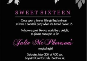 Sweet 16 Birthday Invitation Wording 1000 Ideas About Teen Birthday Invitations On Pinterest