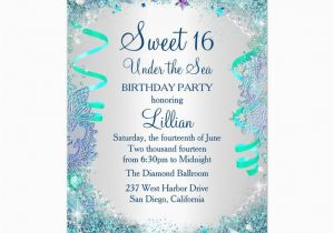 Sweet 16 Birthday Invitation Wording 28 Best Blue Sweet Sixteen Invitations Images On Pinterest