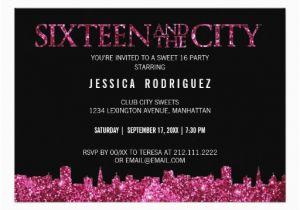 Sweet 16 Birthday Invitation Wording Sweet 16 Birthday Invitations Wording Free Invitation
