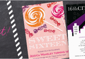 Sweet 16 Birthday Invitation Wording Sweet 16 Birthday Party Invitation Wording Examples
