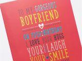 Sweet Birthday Card for Boyfriend Birthday Card for My Boyfriend Only 89p