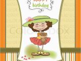 Sweet Birthday Cards for Her Cute Birthday Greeting Card with Girl and Her Teddy Bear