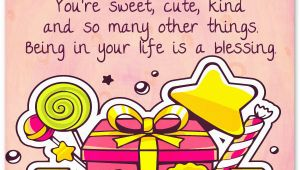 Sweet Happy Birthday Quote 100 Sweet Birthday Messages Adorable Birthday Cards