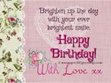 Sweet Message for Birthday Girl Sweet Birthday Messages 365greetings Com