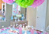 Table Decoration for Birthday Girl A Dreamy Mermaid Birthday Party anders Ruff Custom
