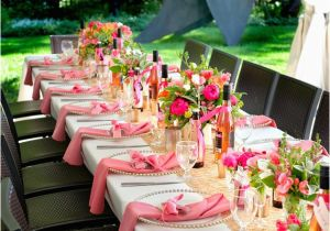 Table Decorations For 30th Birthday Party A Pink Celebration Guest Feature