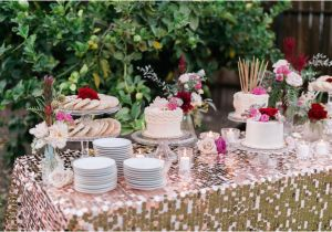 Table Decorations For 30th Birthday Party Kara 39 S Ideas Sparkly Bash