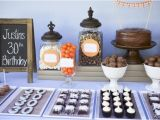 Table Decorations for 30th Birthday Party Masculine Dessert Table 30th Birthday Party Kara 39 S