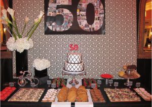 Table Decorations for 50th Birthday Party 50th Birthday Dessert Table Dessert Tables Pinterest