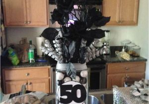 Table Decorations for 50th Birthday Party 50th Birthday Table Centerpiece Ideas for Men 736px