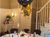 Table Decorations for A 60th Birthday Party 60th Birthday Party Centerpiece In Black and Gold