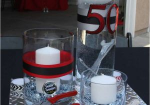 Table Decorations For Male Birthday 50th Party Ideas Men Tool Theme