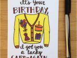 Tacky Birthday Cards Birthday Card Tacky Card