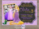Tangled Birthday Invitations Personalized Rapunzel Invitation Tangled Invitation Tangled Birthday