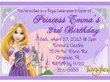 Tangled Birthday Invitations Personalized Rapunzel Tangled Birthday Invitations Design Ebay