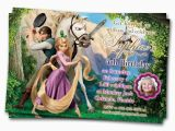 Tangled Birthday Invitations Personalized Tangled Party Invitations Printable Free