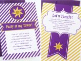 Tangled Birthday Invites Easy Tangled Party Invites Paging Supermom