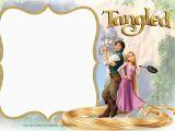 Tangled Birthday Invites Free Printable Tangled Rapunzel Invitation Templates