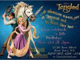 Tangled Birthday Invites Rapunzel Birthday Party Invitation Ideas Bagvania Free