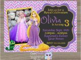 Tangled Birthday Invites Rapunzel Invitation Tangled Invitation Tangled Birthday