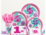 Target Birthday Decorations Turning One Girl 1st Birthday Party Supplies Kit Target