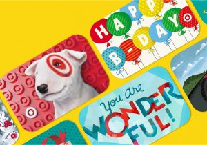 Target Birthday Gift Card Cards