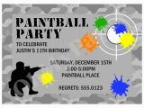 Target Birthday Invitation Cards Party Invitations Cards Printable Paintball Party