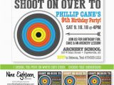 Target Photo Birthday Invitations 1000 Ideas About Archery Party On Pinterest Parties