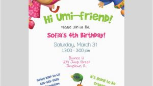 Team Umizoomi Birthday Invitations Items Similar to Team Umizoomi Birthday Invitation I