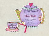Teapot Birthday Invitations 41 Tea Party Invitation Templates Psd Ai Free