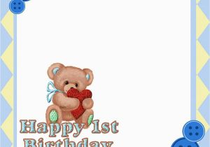 Teddy Bear Invitations for 1st Birthday How You Can Make First Birthday Invitations Special