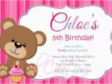 Teddy Bear Invitations for 1st Birthday Teddy Bear Birthday Invitations Lijicinu 283825f9eba6