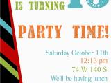 Teenage Birthday Invitation Templates Free Free Printable Birthday Invitation Templates