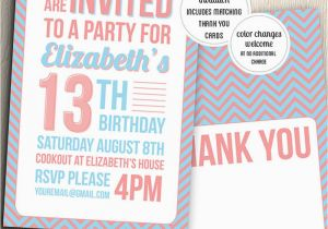 Teenage Birthday Invites 21 Teen Birthday Invitations Inspire Design Cards
