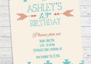 Teenage Birthday Invites Best 25 Teen Birthday Invitations Ideas On Pinterest