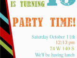 Teenage Birthday Party Invitation Templates Free Printable Birthday Invitation Templates