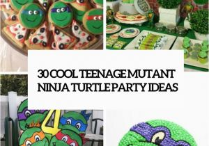 Teenage Mutant Ninja Turtles Birthday Decorations 30 Cool Teenage Mutant Ninja Turtles Party Ideas Shelterness