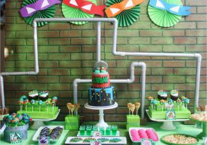 Teenage Mutant Ninja Turtles Birthday Decorations and Everything Sweet Teenage Mutant Ninja Turtle