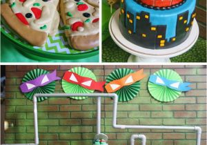Teenage Mutant Ninja Turtles Birthday Decorations Kara 39 S Party Ideas Teenage Mutant Ninja Turtles Party