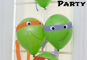 Teenage Mutant Ninja Turtles Birthday Decorations One Creative Housewife Teenage Mutant Ninja Turtle Party