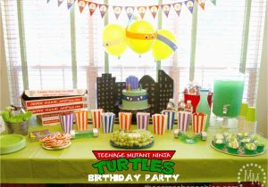 Teenage Mutant Ninja Turtles Birthday Decorations Teenage Mutant Ninja Turtle Tmnt Birthday Party the