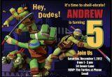 Teenage Mutant Ninja Turtles Birthday Invitations Free Download Free Template Teenage Mutant Ninja Turtle