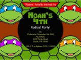 Teenage Mutant Ninja Turtles Birthday Invitations Free Printable Invitation Teenage Mutant Ninja Turtles by