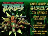 Teenage Mutant Ninja Turtles Birthday Invitations Free Teenage Mutant Ninja Turtles Birthday Invitations Tmnt