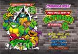Teenage Mutant Ninja Turtles Birthday Invitations Free Teenage Mutant Ninja Turtles Invitation Printable Tmnt