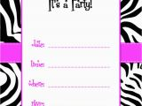 Template for Birthday Invitation Free Birthday Invitations Templates Best Template Collection